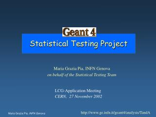 Statistical Testing Project