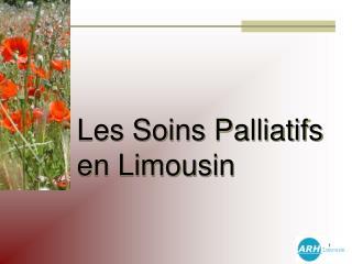 Les Soins Palliatifs en Limousin