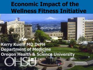 Economic Impact of the Wellness Fitness Initiative