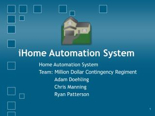 IHome Automation System