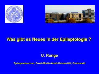 Was gibt es Neues in der Epileptologie