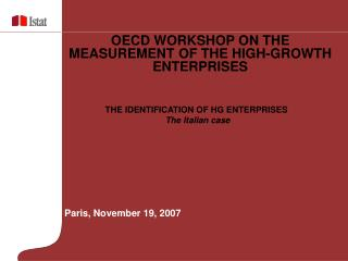 Paris, November 19, 2007