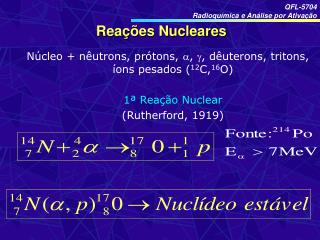 Rea  es Nucleares
