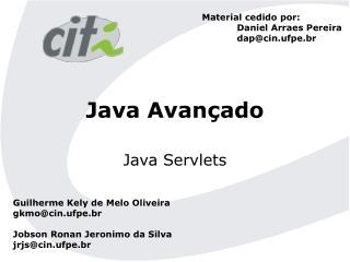 Java Avan ado