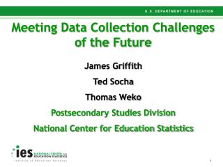 Meeting Data Collection Challenges of the Future