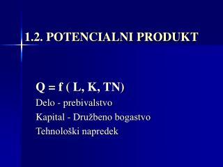 1.2. POTENCIALNI PRODUKT