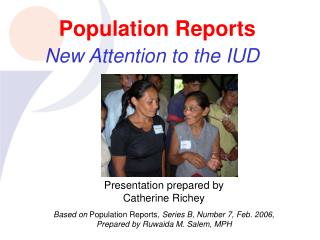 Population Reports