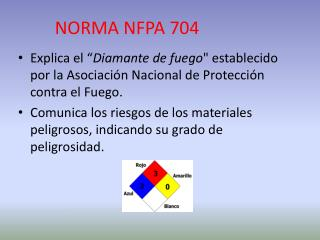 NORMA NFPA 704