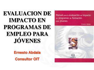 EVALUACION DE IMPACTO EN PROGRAMAS DE  EMPLEO PARA J VENES