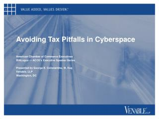 Avoiding Tax Pitfalls in Cyberspace