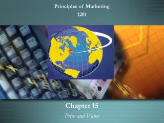 Chapter 15   Price and Value