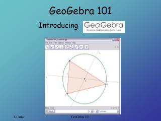 GeoGebra 101