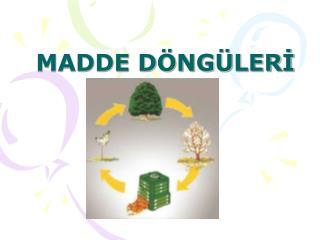 MADDE D NG LERI
