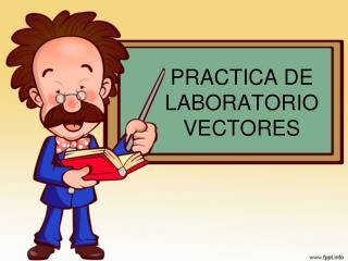 PRACTICA DE LABORATORIO VECTORES