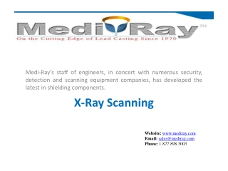 Medi-Ray The leader in custom lead shielding products.