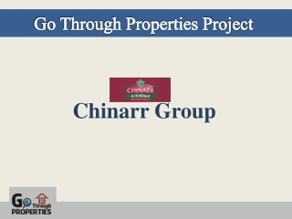 Go Through Properties -Chinarr Project
