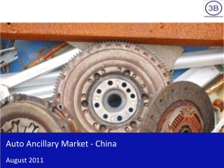 Auto Ancillary Market in China 2011