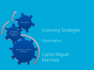 Licensing Strategies  Optimisation