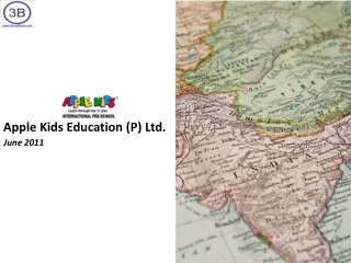 Apple Kids Education Pvt. Ltd. - Company Profile