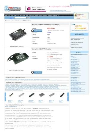 Accu Asus ACGACCBATTF7400, Batterij Asus ACGACCBATTF7400