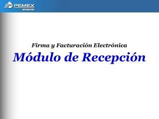 Firma y Facturaci n Electr nica