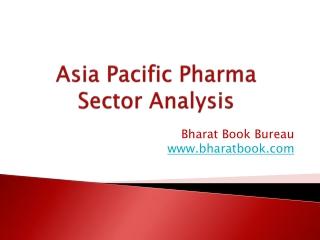 Asia Pacific Pharma Sector Analysis