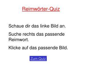 Reimw rter-Quiz