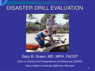 DISASTER DRILL EVALUATION