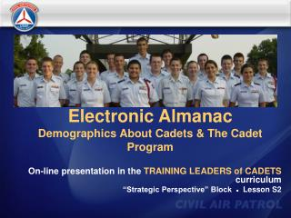 Electronic Almanac Demographics About Cadets  The Cadet Program