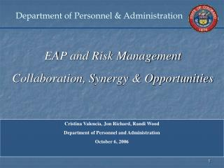 Department of Personnel  Administration