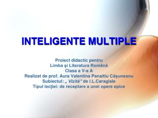 INTELIGENTE MULTIPLE