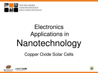 Electronics  Applications in  Nanotechnology