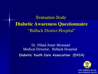 Diabetic Youth Care Association  DYCA
