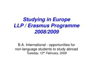 ing in Europe