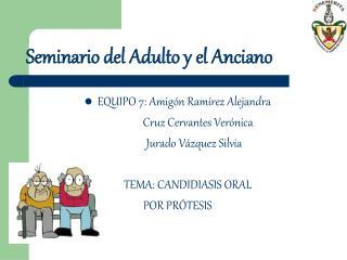 Seminario del Adulto y el Anciano