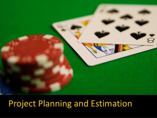 Project Planning and Estimation