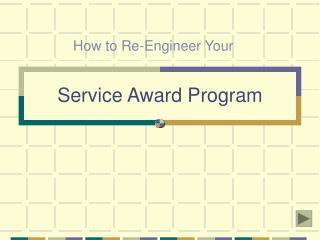 Service Award Program