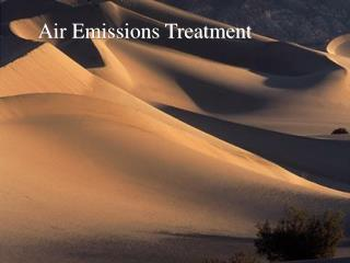 Air Emissions Treatment