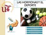 Introducci n a las hormonas y el deporte