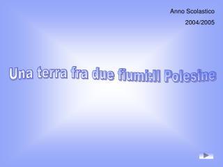 Anno Scolastico 2004