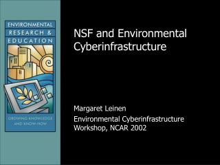 NSF and Environmental Cyberinfrastructure