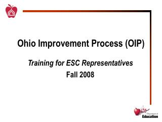 Ohio Improvement Process OIP