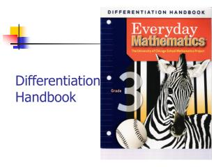 Differentiation  Handbook