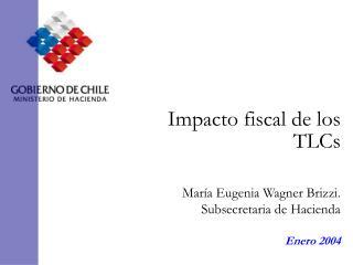 Impacto fiscal de los TLCs
