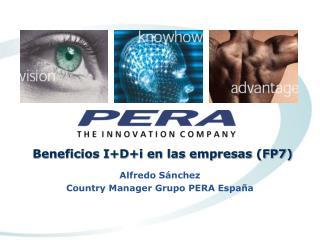 Beneficios IDi en las empresas FP7
