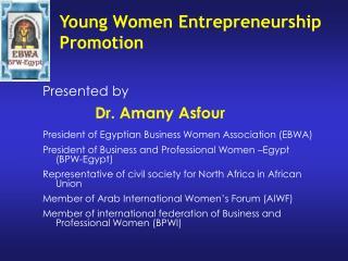 Young Women Entrepreneurship Promotion