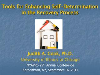 Tools for Enhancing Self-Determination in the Recovery Process