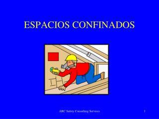 ESPACIOS CONFINADOS