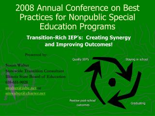 2008 Annual Conference on Best Practices for Nonpublic Special Education Programs