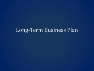 Businesse Plan